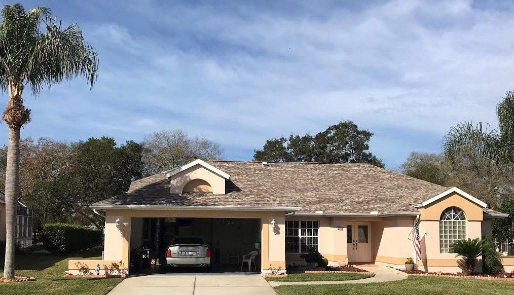 new shingle roof on a home in apopka florida